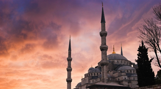 blue_mosque_sunset