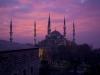 bluemosque_sunset