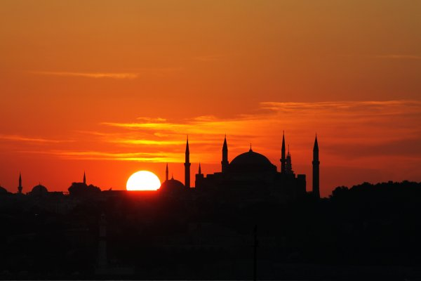 hagia-sophia_sunset